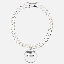 Property of KYLAN Charm Bracelet, One Charm