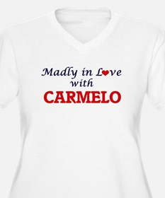 Madly in love with Carmelo Plus Size T-Shirt