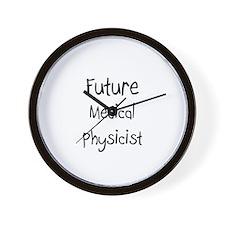 Future Medical Physicist Wall Clock