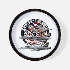 F-14 Jolly Rogers Wall Clock