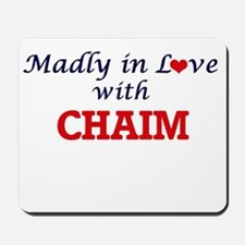 Madly in love with Chaim Mousepad