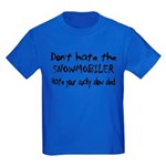 Sucky Slow Sled Kids Dark T-Shirt