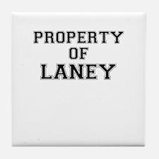Property of LANEY Tile Coaster