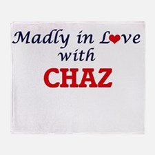 Madly in love with Chaz Throw Blanket