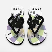Unique Savion Flip Flops