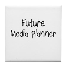 Future Media Planner Tile Coaster