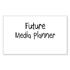 Future Media Planner Rectangle Decal