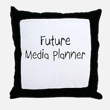 Future Media Planner Throw Pillow