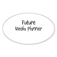 Future Media Planner Oval Decal