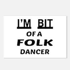 I'm bit of a Folk dancer Postcards (Package of 8)