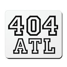 404 Atlanta ATL 10 Mousepad