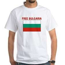FREE BULGARIA White T-Shirt