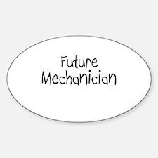 Future Mechanician Oval Decal