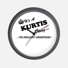 KURTIS thing, you wouldn't understand Wall Clock