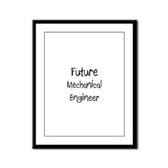 Future Mechanical Engineer Framed Panel Print
