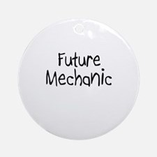 Future Mechanic Ornament (Round)