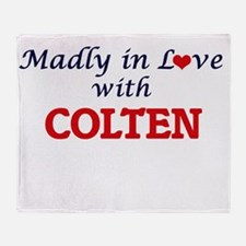 Madly in love with Colten Throw Blanket