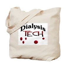 Funny Dialysis tech Tote Bag