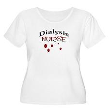 Dialysis Nurse BLOOD DROPS #1 Plus Size T-Shirt