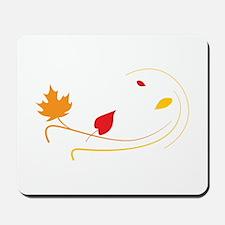 Leaves Swirl Mousepad