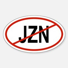 JZN Oval Decal
