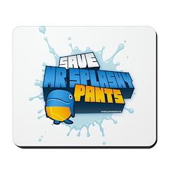 Mr Splashypants curb Mousepad