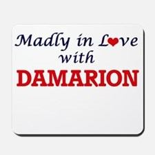 Madly in love with Damarion Mousepad