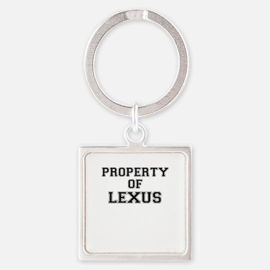Property of LEXUS Keychains