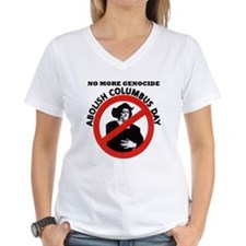 Abolish Columbus Day Shirt