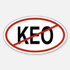 KEO Oval Decal