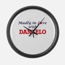 Madly in love with Dangelo Large Wall Clock