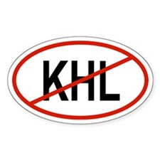 KHL Oval Decal