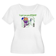 RT GIRL A GIRLS' JUST GOTTA INTUBATE 6 Plus Size T