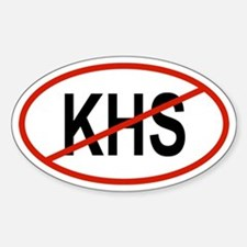 KHS Oval Decal