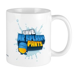Mr Splashypants Curb Mug