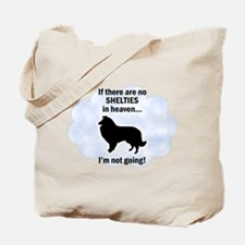 Shelties In Heaven Tote Bag