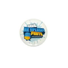 Mr Splashy Pants Mini Button designed by Kerb