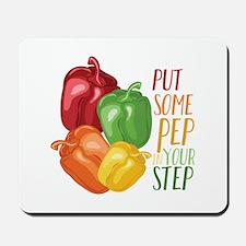 Pep In Step Mousepad