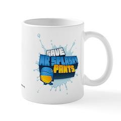 Mr Splashy Pants Mug designed by Kerb