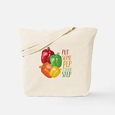 Pep In Step Tote Bag