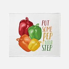 Pep In Step Throw Blanket