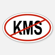 KMS Oval Decal
