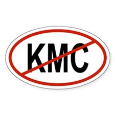 KMC Oval Decal