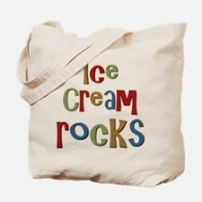 Ice Cream Frozen Dessert Lover Tote Bag