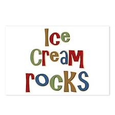 Ice Cream Frozen Dessert Lover Postcards (Package