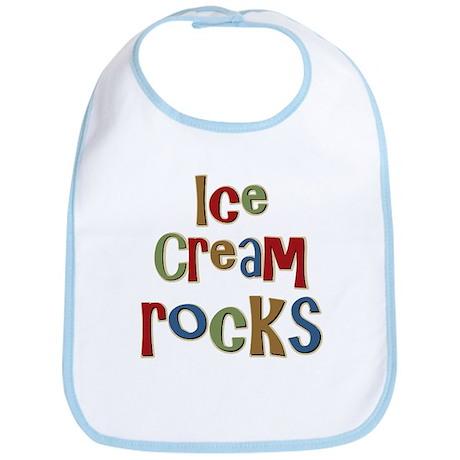 Ice Cream Frozen Dessert Lover Bib