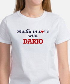 Madly in love with Dario T-Shirt