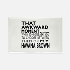 Awkward Havana Brown Ca Rectangle Magnet (10 pack)