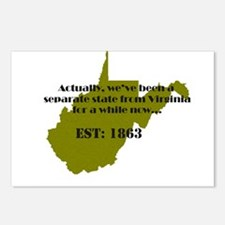 Unique West Postcards (Package of 8)