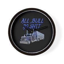 All Bull No Shit Wall Clock